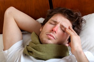Artikelgebend sind Maßnahmen um sich vor der Grippe zu schützen.